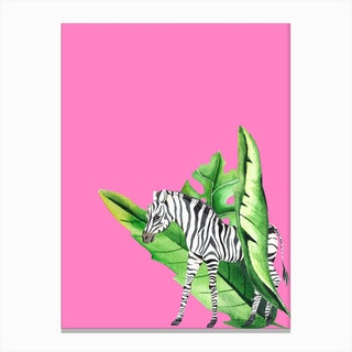 In the Jungle II Canvas Print