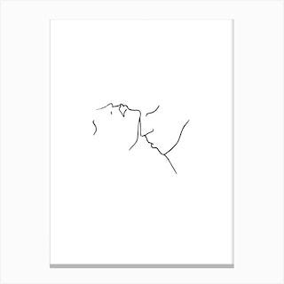 Kiss II Canvas Print