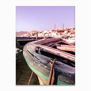 Fishermans Boat Canvas Print
