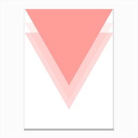 Pink Mountain III Canvas Print