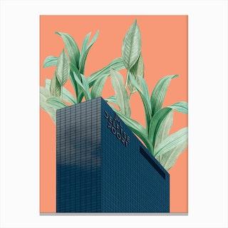 Plant Building Canvas Print