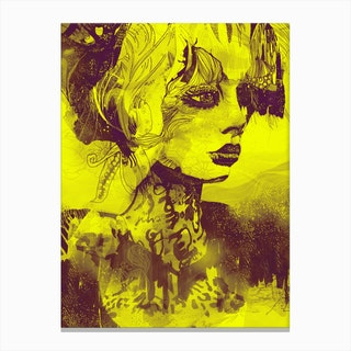 Animales Salvajes II Canvas Print