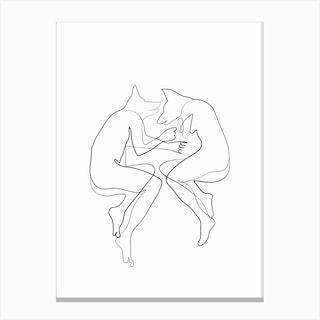 Fox Bodies Canvas Print