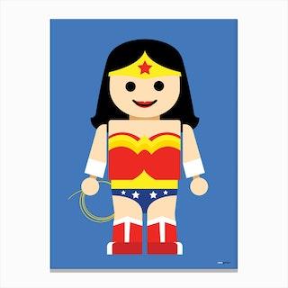 Toy Wonder Woman Canvas Print