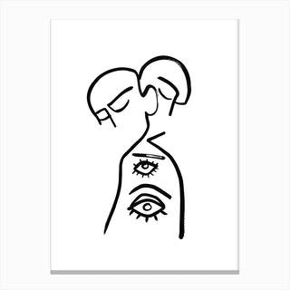 Eye Want You Canvas Print