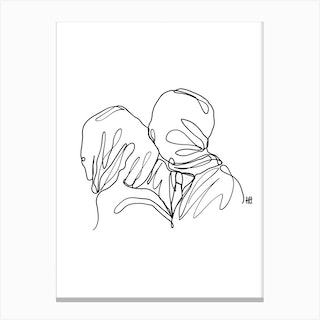 Loveletter To The Lovers Canvas Print