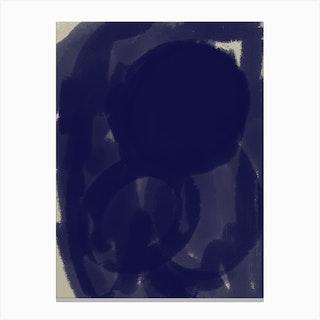 Into Deep Blue Canvas Print