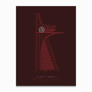 Stark Tower Canvas Print