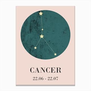 Cancer  I Canvas Print