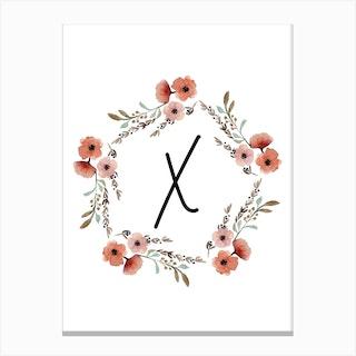 Wild Flower X Canvas Print