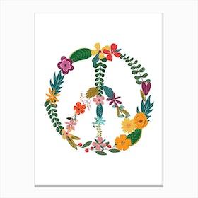 Peace X Canvas Print