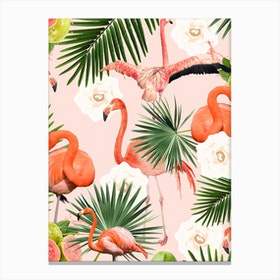 Flamingo Guava In Canvas Print
