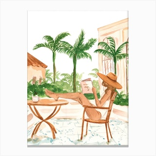 Vacation Mode I Canvas Print