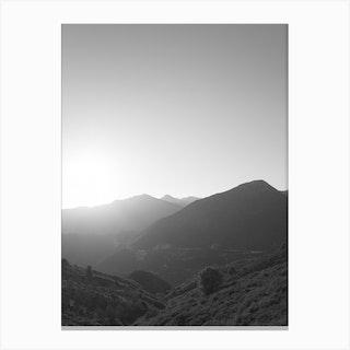 Sunset Hike Canvas Print