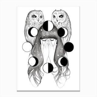 Moon Spells Canvas Print