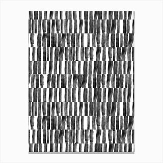 B&W Stripes Canvas Print