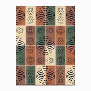 Mudcloth Tiles 03 Canvas Print