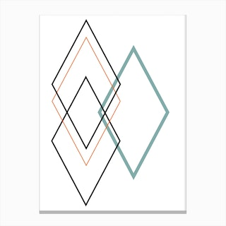 Diamond II Canvas Print
