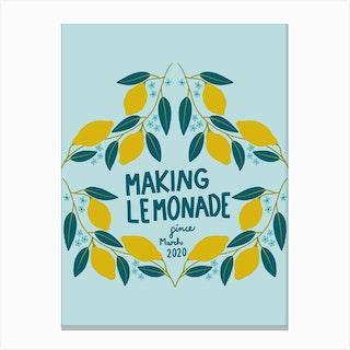 Making Lemonade Canvas Print