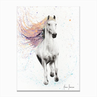 Horse Of Rhythm Canvas Print