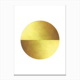 Gold Dust Canvas Print