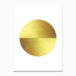 Gold Dust Canvas Print