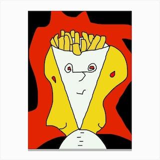 Belggian Fries Canvas Print