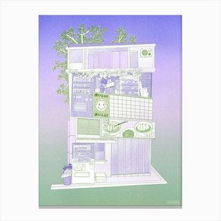 Snack House Canvas Print