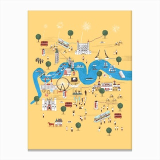Totally Thames Canvas Print
