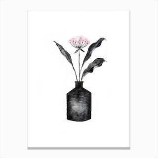 Modern Flower Canvas Print