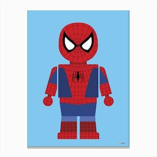 Toy Spider Man Canvas Print