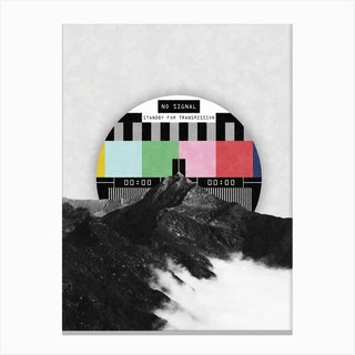 Out Of The Grid Canvas Print