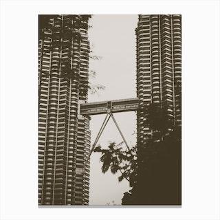 Petronas Twin Towers 1 Canvas Print