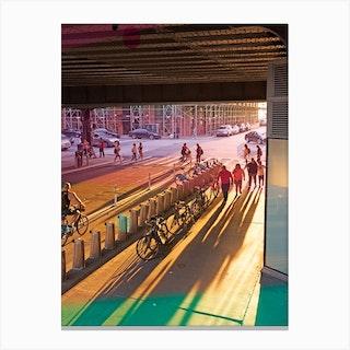 New York West Side Canvas Print