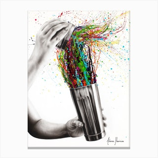 Shake It Canvas Print