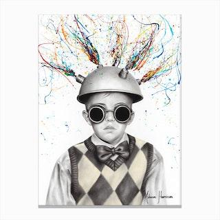 The Ideas Boy Canvas Print