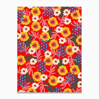 Many Flowers Canvas Print