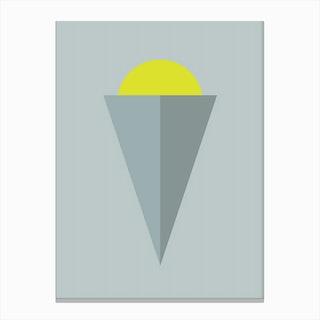 Geodeco LA III Canvas Print