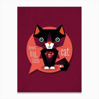 Dream Big Cat II Canvas Print