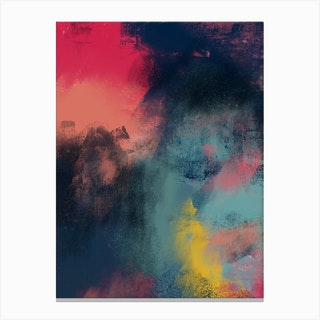 Oil Bright Iii Canvas Print