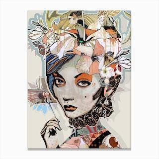 Fox A3 Canvas Print