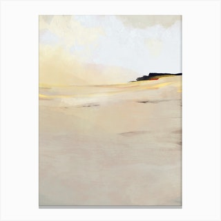Gold Land Canvas Print