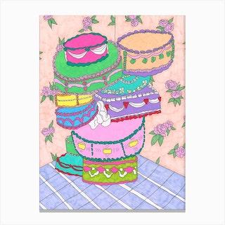 Cake Cake Cake Cake Canvas Print