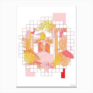 Tatami Canvas Print