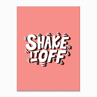 Shake It Off Canvas Print
