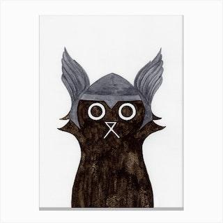 Thor Cat Canvas Print