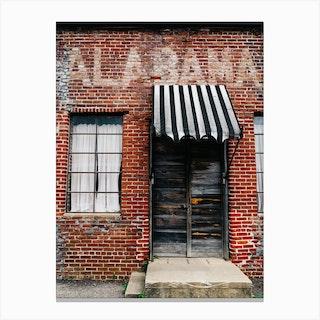Alabama Architecture XII Canvas Print