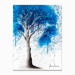 Ocean Sound Tree Canvas Print