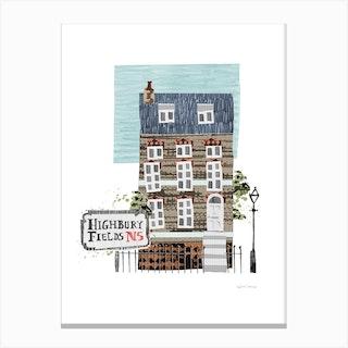 Highbury Fields Canvas Print