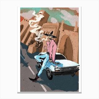 Ford Fiesta Canvas Print
